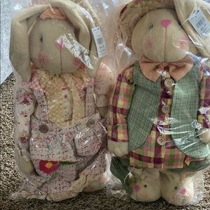 "Other - NWT 19"" Bunnies(set of 2)"